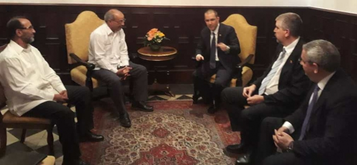 Minister for Latin America and Caribbean received by Venezuelan Foreign Minister | Sahara Press Service