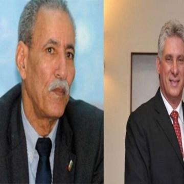 El Presidente de la República felicita a su homologo cubano por el 60 aniversario del triunfo de la Revolución Cubana   Sahara Press Service