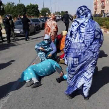 SUR DE MARRUECOS: saharauis protestan por la renovación del acuerdo de pesca entre la UE y el ocupante marroquí, que incluye el Sahara Occidental | Sahara Press Service