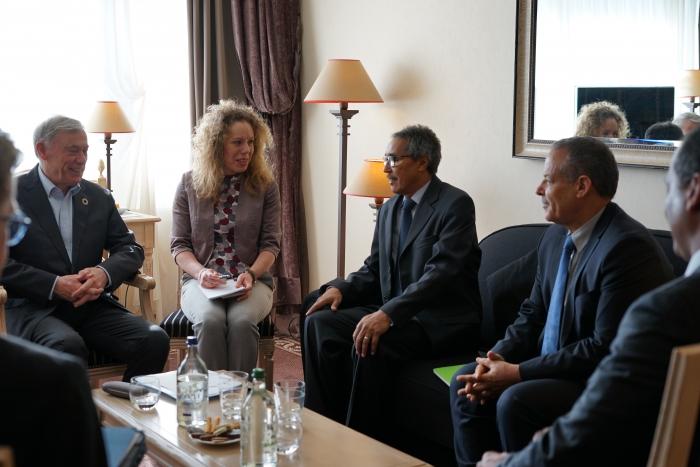 Delegación del F. Polisario se reúne con el enviado de la ONU para el Sahara Occidental, Horst Kohler | Sahara Press Service
