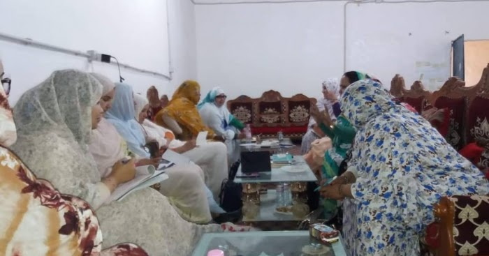 UNMS | UNIÓN NACIONAL DE MUJERES SAHARAUIS.: Primera reunión de la nueva ejecutiva de la Unión Nacional de Mujeres saharauis