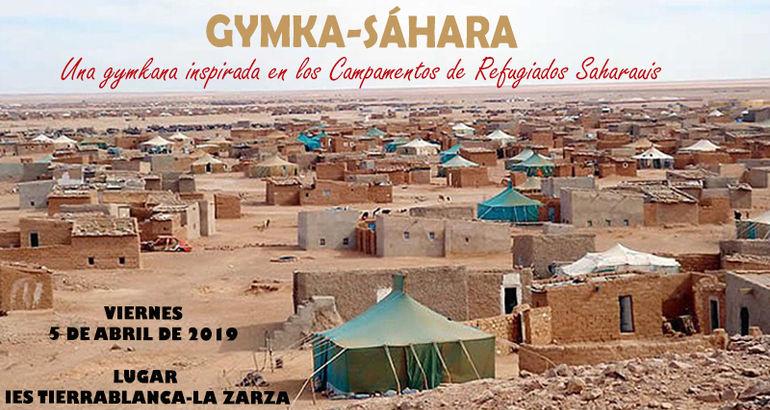 La Zarza acoge una Gymkana sobre campamentos de refugiados saharauis para estudiantes