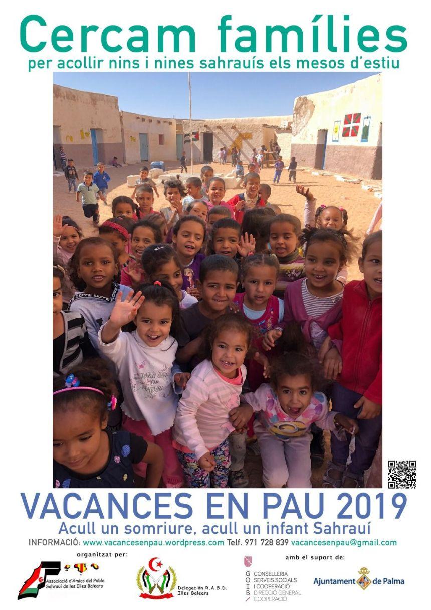 Amigos del Pueblo Saharaui busca familias que acojan a niños refugiados este verano   mallorcadiario.com