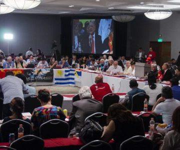 XXIII Seminario Internacional organizado por PT de México Respalda la autodeterminación e independencia Saharaui | werken rojo
