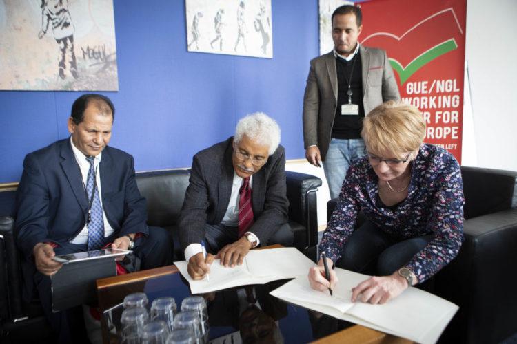 GUE/NGL: Relaciones con el Frente Polisario profundizadas en un nuevo acuerdo | POR UN SAHARA LIBRE .org