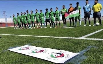 La Selección de fútbol de la República Saharaui ondea su bandera en la CAN 2019 en Egipto — DIARIO LA REALIDAD SAHARAUI