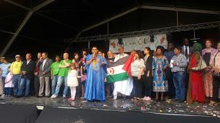 COMUNIDAD SAHARAUI EN ARAGON: El Sáhara en la «Zaragoza Diversa» del 2019