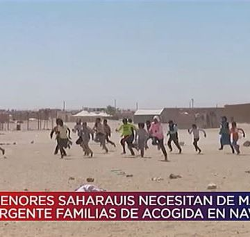 Vídeo: Niños y niñas saharauis necesitan familias navarras en verano de 2019 | Navarra Directo | EiTB