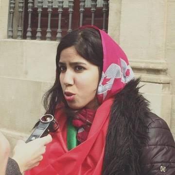 Las fuerzas de ocupación marroquíes han retenido, y han confiscado el móvil, de la periodista saharaui Hayat Rguibi