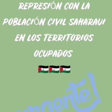 Concentración ante la embajada de Marruecos contra la represión en el Sáhara Occidental ocupado – Asociacion de amig@s del pueblo saharaui de Madrid