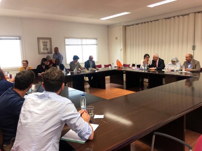 La MLR, ACNUR y la Universidad Autónoma de Madrid presentan plan para la formación profesional en los campamentos de refugiados saharauis   Sahara Press Service