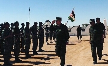 President of Republic on inspection visit to 4th military region | Sahara Press Service