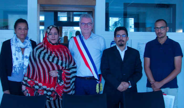 Wali of Ausserd undertakes a working visit to French   Sahara Press Service