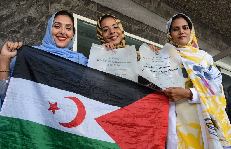Se gradúa nueva promoción de médicos saharauis | Sahara Press Service