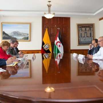 La tesis sobre la descolonización y la autodeterminación de los pueblos se mantiene invariable, sostiene Ministerio de Relaciones Exteriores del Ecuador ante delegación saharaui | Sahara Press Service