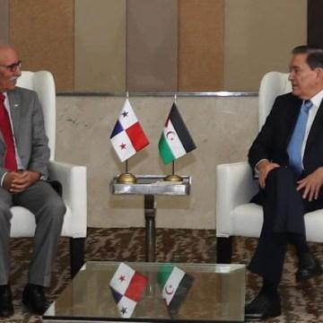 Cortizo se reúne con el presidente saharaui como parte de la agenda bilateral — ECSAHARAUI