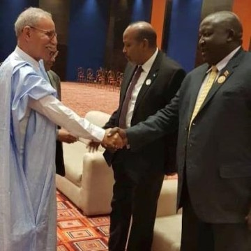 President of Republic received by President of Niger at 12th AU Extraordinary Summit | Sahara Press Service