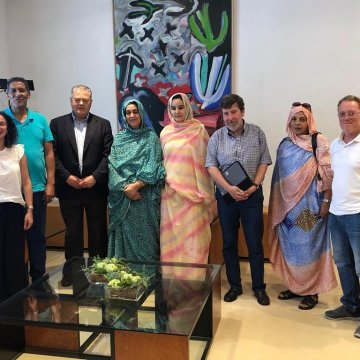 Representante saharaui , Maina Chejatu, pide desde Cantabria mas compromiso político con el pueblo saharaui | Sahara Press Service