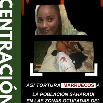 26 de julio en Madrid, CONCENTRACIÓN: ¡Así tortura Marruecos a la población saharaui en las zonas ocupadas del Sahara Occidental!