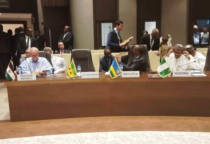 Cumbre extraordinaria de la UA: el Presidente de la República afirma que una África unida, armoniosa, próspera e integrada es un sueño posible | Sahara Press Service