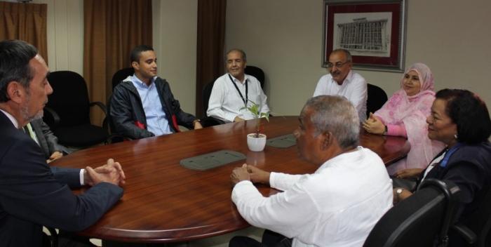 Ministro para América Latina y el Caribe resalta colaboración de la universidad de Panamá con el pueblo saharaui | Sahara Press Service