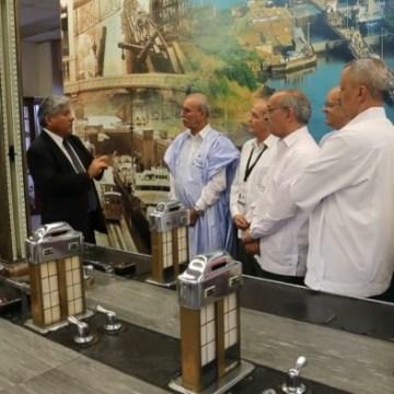 Presidente saharaui visita las instalaciones del Canal de Panamá | Sahara Press Service