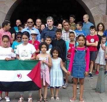 El Ayuntamiento de Baztan recibe a los emisarios saharauis. Noticias de Navarra
