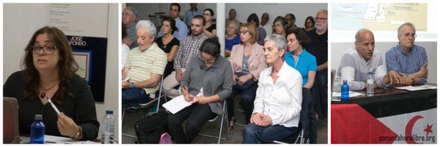 Sesión informativa sobre la situación actual del Sahara Occidental en la Asociación José Afonso en Lisboa   POR UN SAHARA LIBRE .org – PUSL