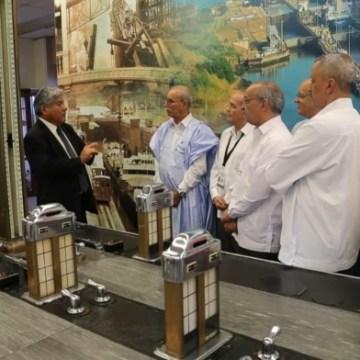 Le président de la République visite le canal de Panama | Sahara Press Service