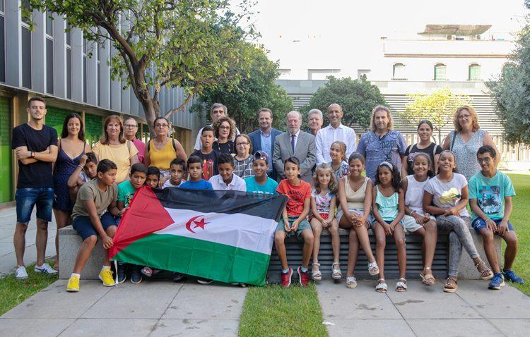 Utrera participa un año más en el programa «Vacaciones en paz» para niños saharauis | Utrera Digital