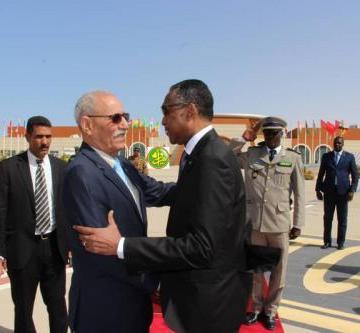 Activités gouvernementales: Le Président de la RASD quitte Nouakchott