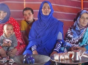 Exiliada de niña, la abuela saharaui todavía anhela su hogar