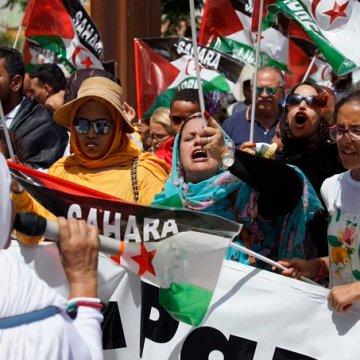 La concentración frente al Consulado de Marruecos en Algeciras en las redes sociales