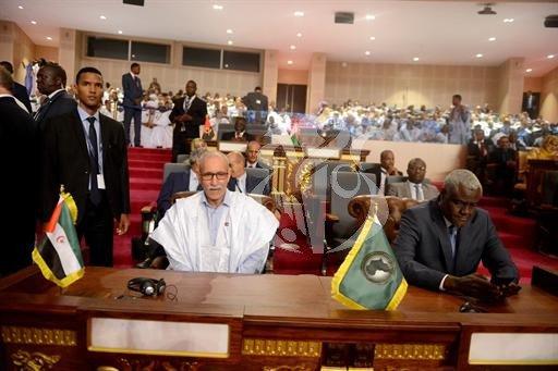 El Presidente de la República participa en la ceremonia de investidura del Presidente electo de Mauritania | Sahara Press Service