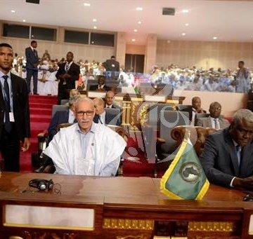 El Presidente de la República participa en la ceremonia de investidura del Presidente electo de Mauritania   Sahara Press Service