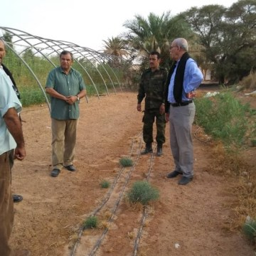President of Republic observes start of new agricultural season in wilaya of Smara | Sahara Press Service