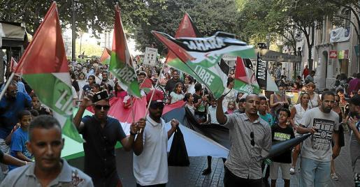 Protesta en Palma para recordar la situación del Sáhara Occidental | Sahara Press Service