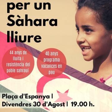 Illes Balears: Manifestació per un Sàhara Lliure, 30 d'agost, 19h plç Espanya – CEAS-Sahara