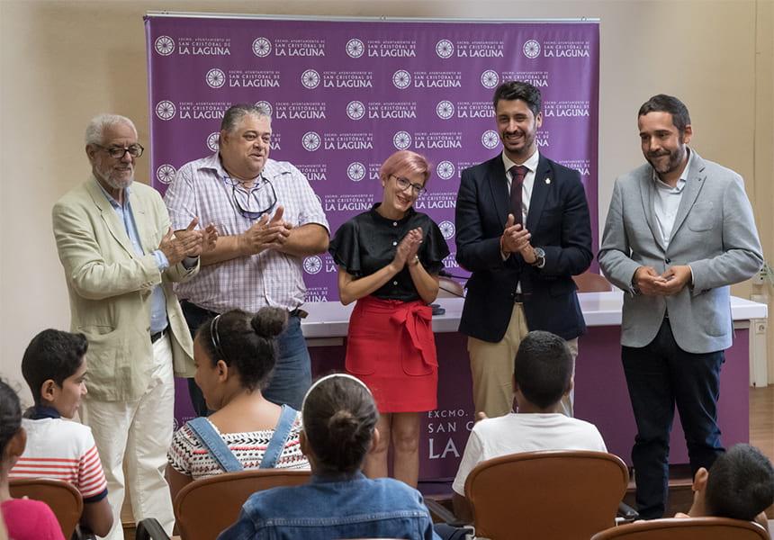 El Ayuntamiento de la Laguna (Santa Cruz de Tenerife) recibe a los menores saharauis del proyecto 'Vacaciones en paz' | Sahara Press Service