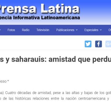 Panameños y saharauis: amistad que perdura en el tiempo