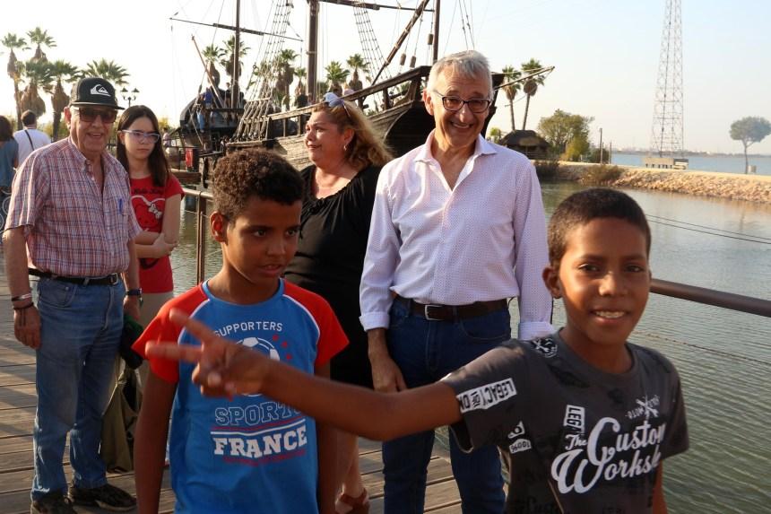 Niños saharauis vuelven a los campamentos de refugiados