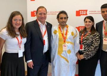 UJSARIO attends Swedish Social Democratic Youth Congress and calls on Swedish Prime Minister to recognize SADR | Sahara Press Service