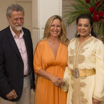 ¡Claro que también estaba Trinidad Jiménez! – La embajada de Marruecos celebra, un año más, su 'Fiesta del trono' – HOLA