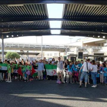 Los niños saharauis que pasan verano en acogida en Extremadura regresan a sus hogares