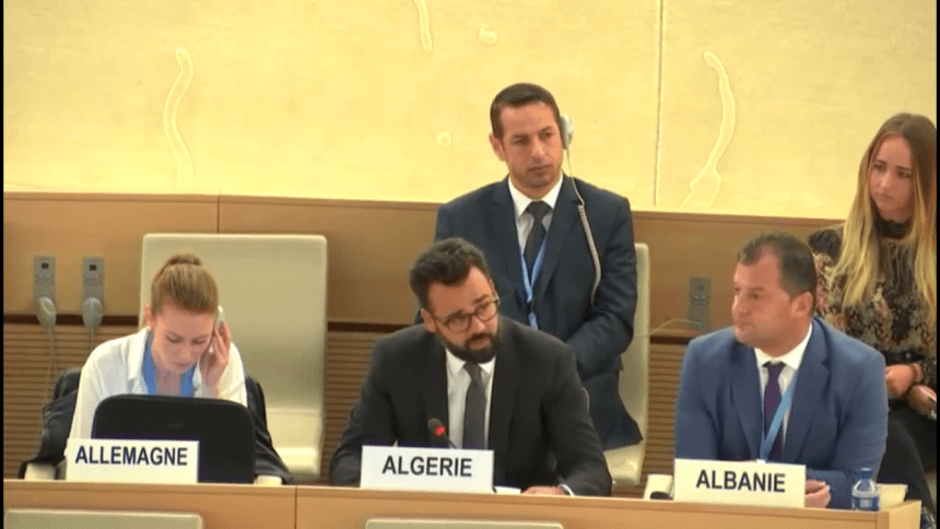 Algeria's mission to UNHRC draws international attention to the serious escalation of human rights violations in occupied Western Sahara | Sahara Press Service