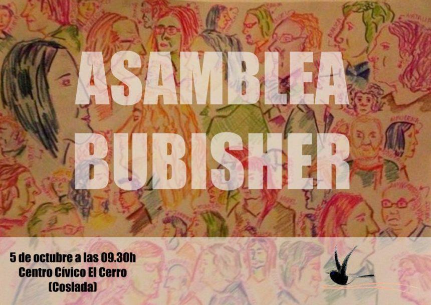 5 de octubre, ASAMBLEA BUBISHER 2019