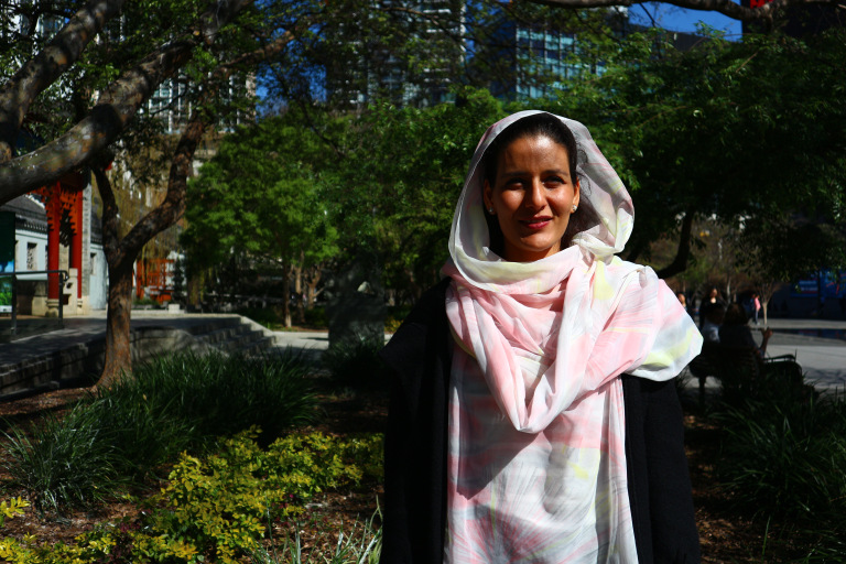 Tecber Ahmed Saleh: «La educación es la clave de nuestra lucha»