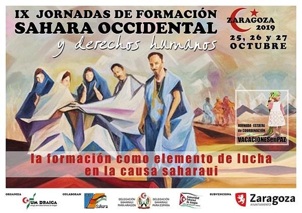 IX Jornadas de Formación de delegados y delegadas saharauis y de CEAS-Sahara en Zaragoza – Um Draiga
