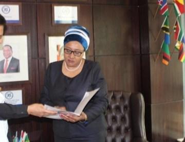 Saharawi Ambassador presents credentials as Permanent Representative of SADR to SADC Executive Secretary | Sahara Press Service