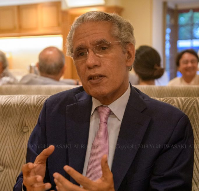 TICAD 7: Escuchamos al Sr. Ould Salek, ministro de asuntos exteriores saharaui – Yuichi IWASAKI / 岩崎有一